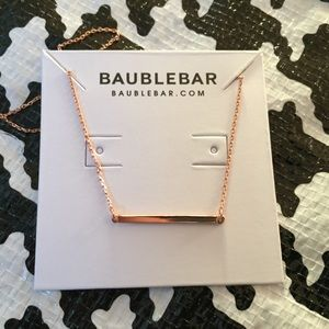 Slim Bar Necklace